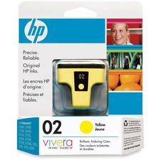 HP 2 Original Ink Cartridge - Single Pack - Inkjet - Standard Yield - 500 Pages - Yellow - 1 Each