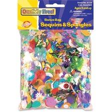 CKC 6114 Chenille Kraft Sequins/Spangles Bonus Bag CKC6114