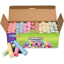 CKC 1752 Chenille Kraft Tub of Sidewalk Chalk  CKC1752