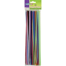 CKC 711201 Chenille Kraft 100-pc Pipe Cleaner Stems CKC711201