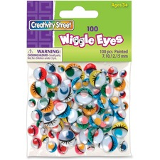 CKC 344607 Chenille Kraft Painted Wiggle Eyes CKC344607
