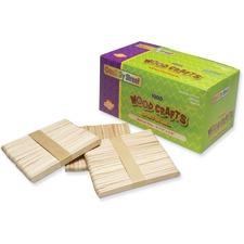 CKC 377501 Chenille Kraft Wood Crafts Natural Craft Sticks CKC377501