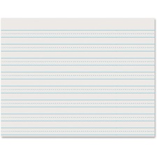 PAC 2637 Pacon Skip-A-Line Ruled Newsprint Paper PAC2637