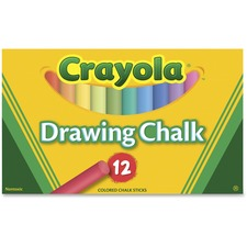 CYO 510403 Crayola Colored Drawing Chalk Sticks CYO510403
