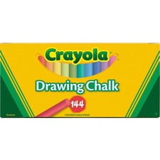 CYO 510400 Crayola Colored Drawing Chalk Sticks CYO510400