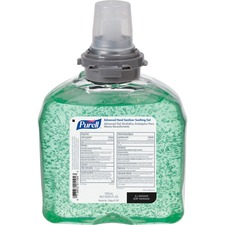 GOJ 545704 GOJO PURELL TFX Refill Advanced Aloe Sanitizer Gel GOJ545704