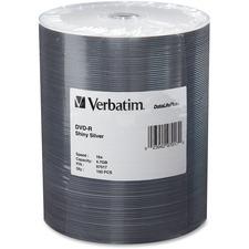 VER 97017 Verbatim 4.7GB 16X DataLifePlus Silver DVD-Rs VER97017