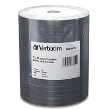 Verbatim DataLifePlus 52x CD-R Media, 100 Pack