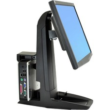 Ergotron Neo-Flex All-In-One SC Lift Stand, Secure Clamp
