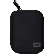 WD WDBABK0000NBK-WRSN Soft Side Portable Hard Drive Case