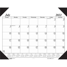 HOD12502 - House of Doolittle 14-month Academic Economy Desk Pad