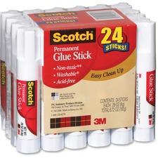 MMM 600824S 3M Scotch Permanent Glue Stick MMM600824S