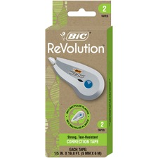 BIC WOETP21 Bic Ecolutions Wite-Out Correction Tape BICWOETP21