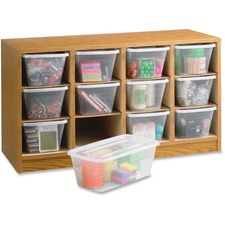 SAF 9452MO Safco 12-compartment Supplies Laminate Organizer SAF9452MO