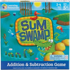 LRN LER5052 Learning Res. Sum Swap Addition/Subtraction Game LRNLER5052