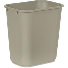 RCP 295600BG Rubbermaid Comm. Deskside Wastebasket RCP295600BG