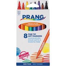 DIX 80719 Dixon Prang Fine Line Markers DIX80719
