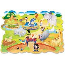 ChenilleKraft Giant Zoo Animals Floor Puzzle