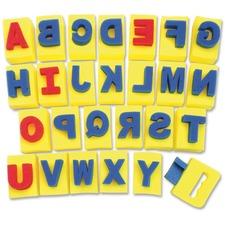 """ChenilleKraft Sponge A-Z Letters - 26 Capital Letter - 2\"""" x 2.93\"""" x 2.31\"""""""