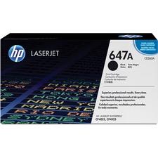 HP 647A (CE260A) Original Toner Cartridge - Single Pack - Laser - 8500 Pages - Black - 1 Each