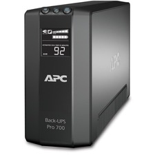 APC Back-UPS RS 700 VA Tower UPS - 700VA/450W - 3 Minute Full Load - 3 x NEMA 5-15R - Battery Backup System, 3 x NEMA 5-15R - Surge-protected