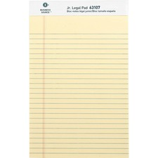 BSN 63107 Bus. Source Micro-Perforated Legal Ruled Pads BSN63107
