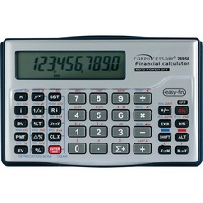 CCS 28956 Compucessory 10-dgt Handheld Financial Calculator CCS28956