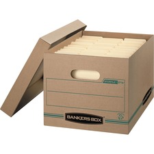 FEL 1277601 Fellowes Bnkrs Box Stor/File Basic Storage Boxes FEL1277601