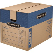 FEL 0062901 Fellowes Bankers Box Smoothmove Prime Moving Boxes FEL0062901