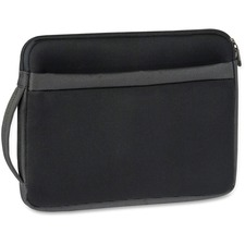 """Solo Netbook Sleeve - Sleeve - Top Loading11\"""" Screen Support - 8\"""" x 11\"""" x 1\"""" - Neoprene, Polyester"""