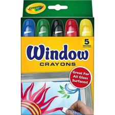 CYO 529765 Crayola Washable Window Crayons CYO529765