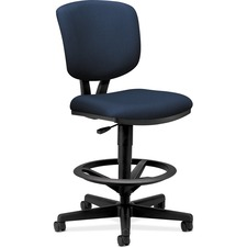 HON 5705GA90T HON Volt Adjustable Footring Swivel Task Stool HON5705GA90T