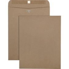 QUA 38712 Quality Park Recy. Chlorine Free Clasp Envelopes QUA38712