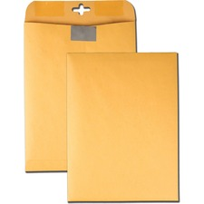 QUA 43568 Quality Park Resealable Redi-Tac Clasp Envelopes QUA43568