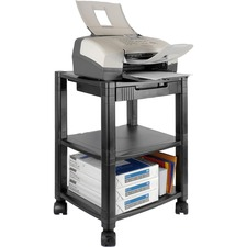 KTK PS540 Kantek Three-shelf Mobile Printer/Fax Stand KTKPS540