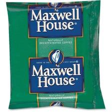 KRF GEN390390 Kraft Maxwell House Decaffeinated Coffee Packs KRFGEN390390