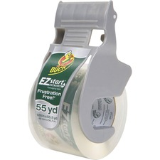 DUC 1259457 Duck Brand EZ Start Packaging Tape w/Dispenser DUC1259457