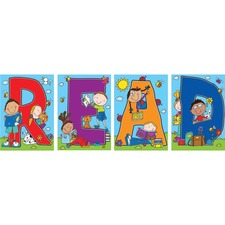 "CDP 110124 Carson ""READ"" Bulletin Board Decoration Set CDP110124"
