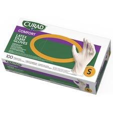 MII CUR8104 Medline Curad Powder Free Latex Exam Gloves MIICUR8104