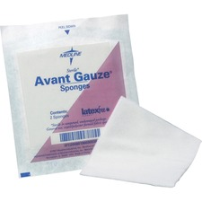 MII NON21334 Medline Four-ply Sterile Gauze Nonwoven Sponges MIINON21334