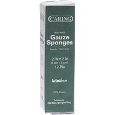 MII PRM21212C Medline Caring Non-sterile Gauze Sponges MIIPRM21212C