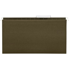 BSN 43569 Bus. Source 1/3-cut Legal Hanging File Folders BSN43569