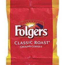 Folgers® Regular Classic Roast - Regular - Medium - 1.5 oz Per Bag - 42 / Carton