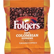 FOL 06451 Folgers 100Pct Colombian Ground Coffee Bag FOL06451