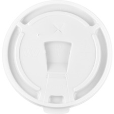GJO58555 - Genuine Joe 12oz-24oz Hot/Cold Foam Cup Lids