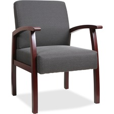 LLR 68551 Lorell Wood Base Guest Chair LLR68551