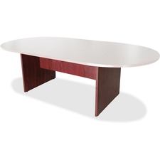 LLR 69151 Lorell Essentials Mahogany Conf. Table Base LLR69151