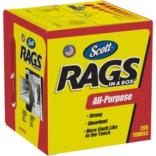 KCC75260 - Scott Rags In A Box Towels
