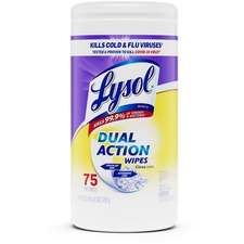 RAC 81700 Reckitt Benckiser Lysol Dual Action Wipes RAC81700