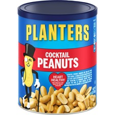 Planters Cocktail Peanuts - Peanut - Can - 453.6 g - 1 Each